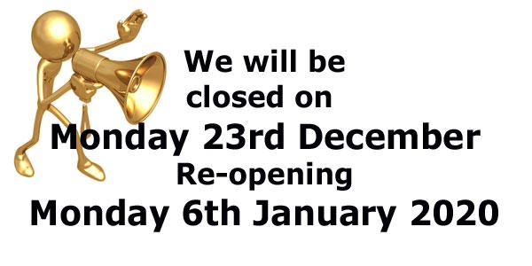 Closing Announcement Rev1